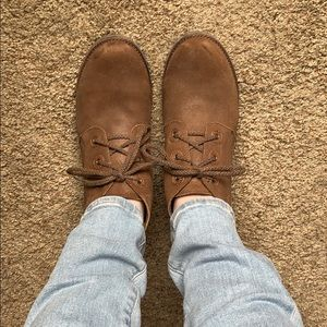 Adorable Naot suede booties!!!